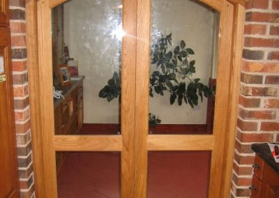 arched door-4-glass-panels