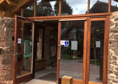 glass-doors-visitor-centre